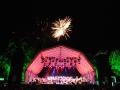 Bühne Weis Feuerwerk