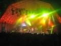 Bühne Weis mit Licht